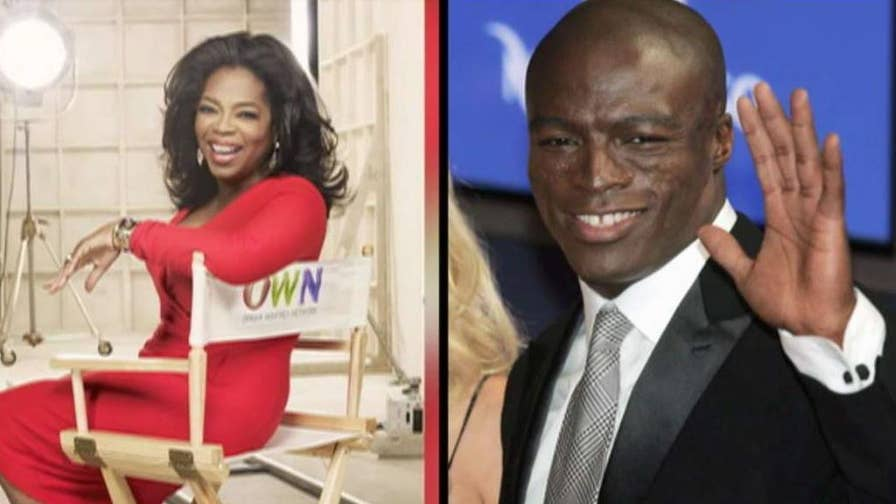 Singer Seal calls out Oprah Winfrey on Instagram with photos of her with Harvey Weinstein, calling her a hypocrite after her Golden Globes speech.