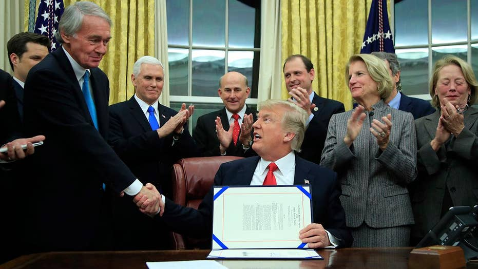 Trump while signing drug bill: I think I know the answer