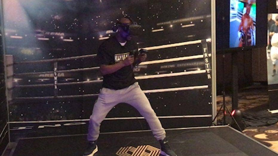CES 2018: Boxing champ Mayweather Jr. unveils VR experience