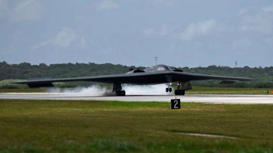 US sends 3 B-2 stealth bombers to Guam