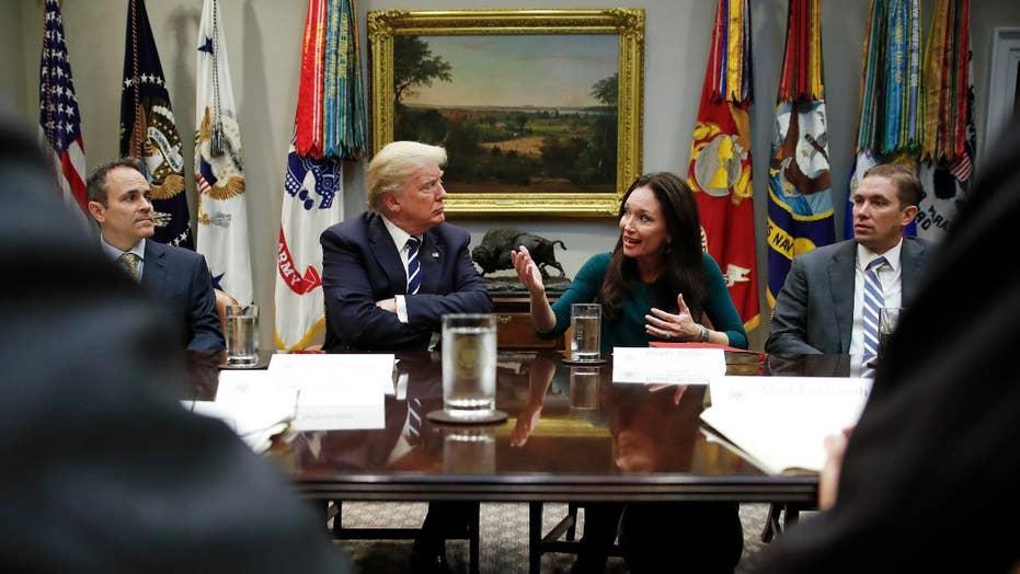 President Trump hosts a criminal justice reform roundtable
