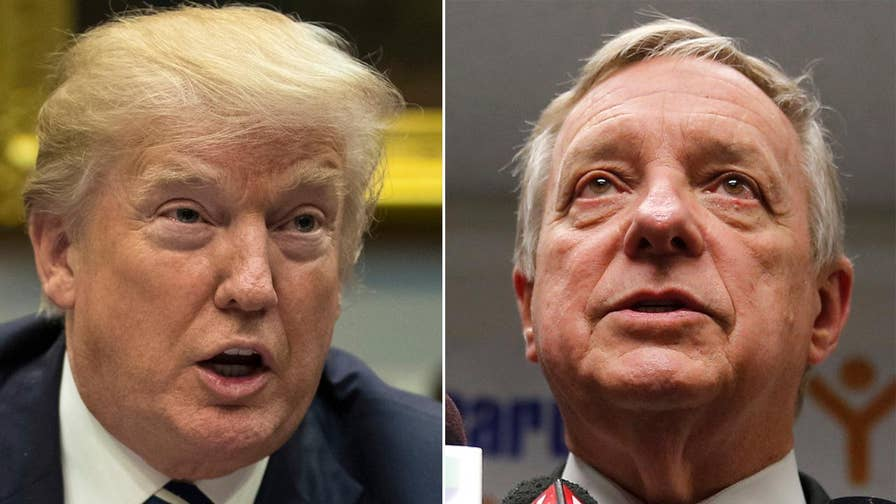 Fox News politics editor says President Trump needs Sen. Dick Durbin on his side for tough upcoming negotiations on immigration reform and government funding.