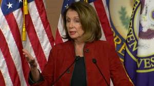 House Minority Leader Pelosi calls tax cut bonuses and wage increases 'crumbs.'