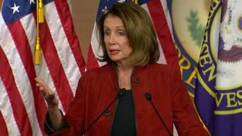 House Minority Leader Pelosi calls tax cut bonuses and wage increases 'crumbs.'