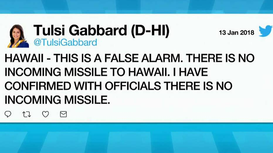 Hawaiians receive a false alarm of incoming missile