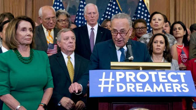 Trump puts the fate of DACA on Democrats