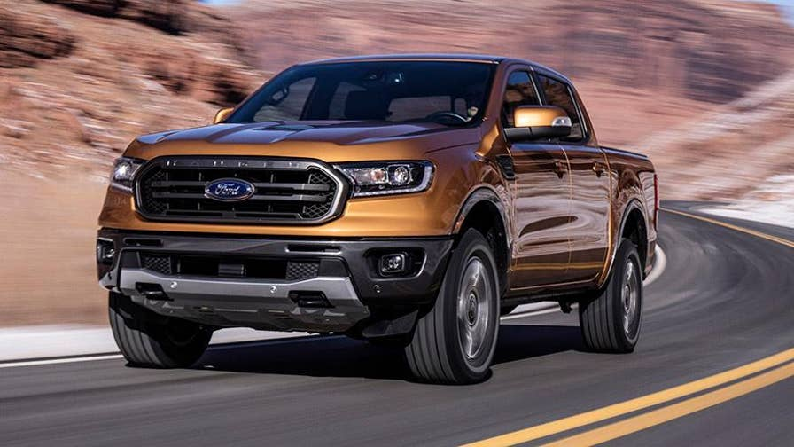 The 2019 Ford Ranger is a high tech small truck with a turbocharged engine and the latest electronic driver aids.