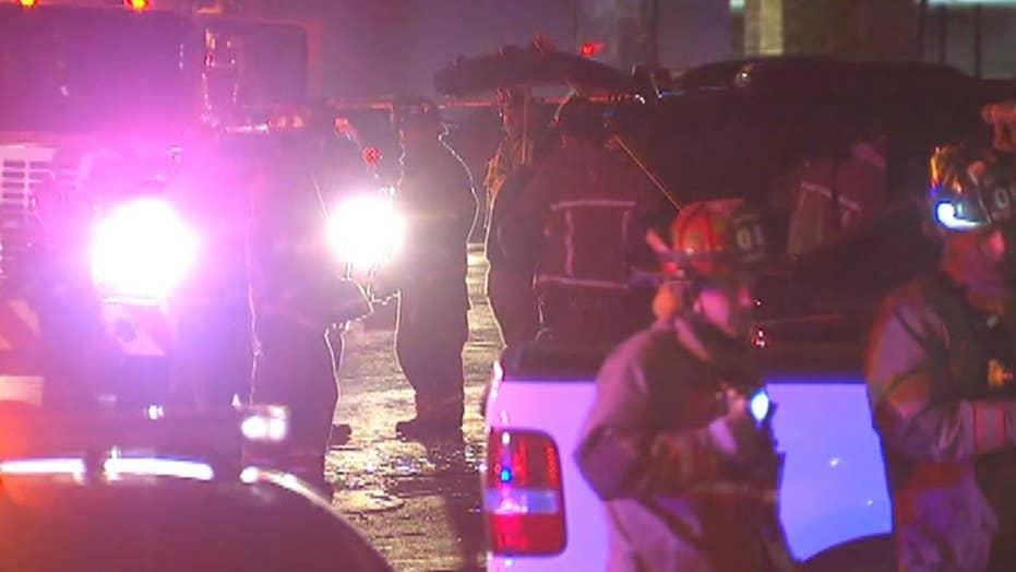 Police arrest two women after suspected drug lab explosion