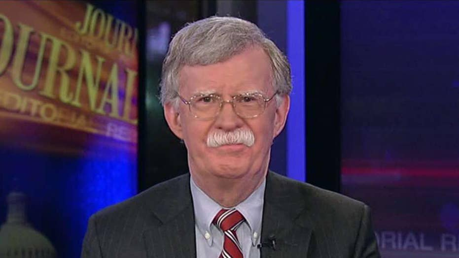 John Bolton reacts to Trump's decision on Iran