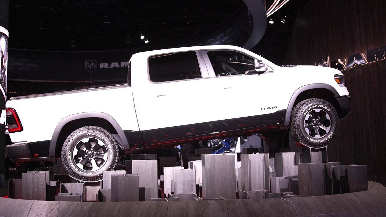 Detroit Auto Show The All New 2019 Ram 1500 Is Ready To Roll
