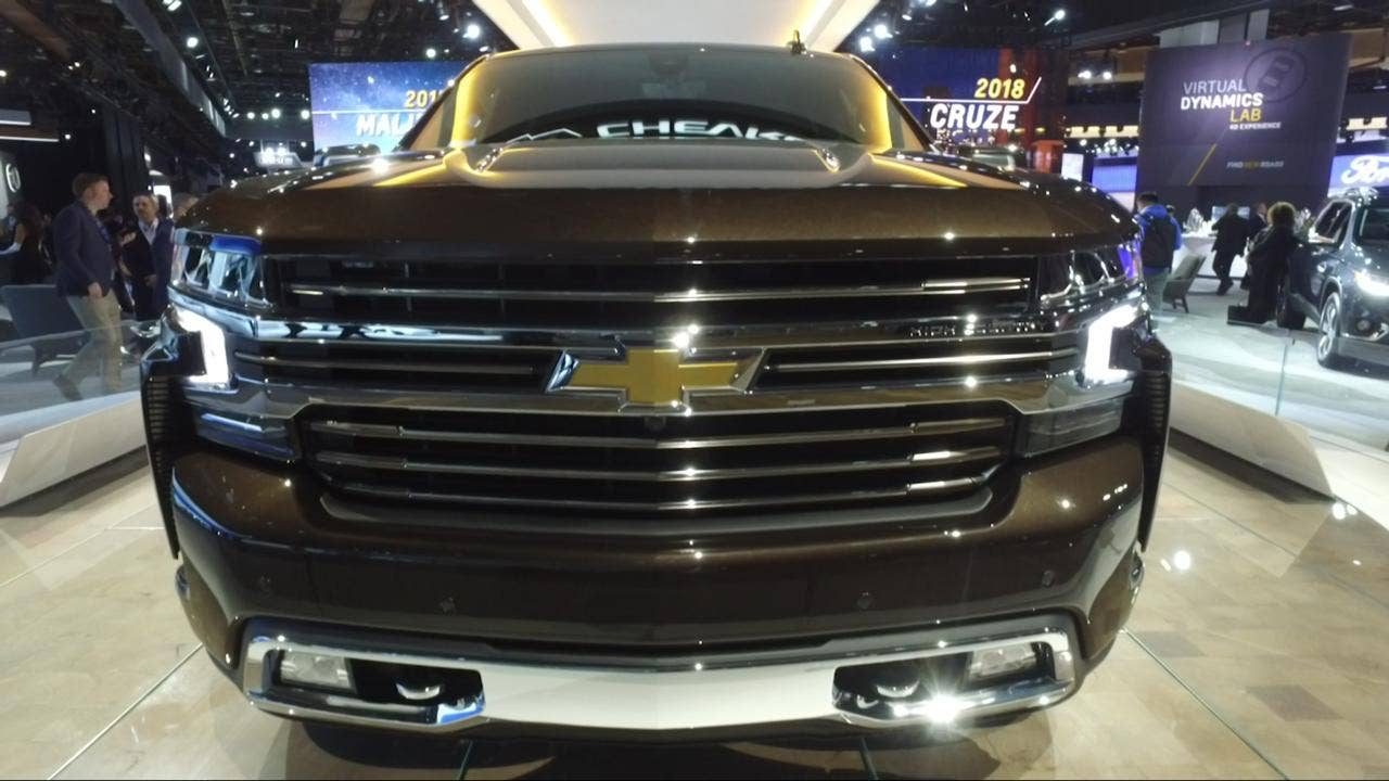 Detroit Auto Show: 2019 Chevrolet Silverado debuts with diesel