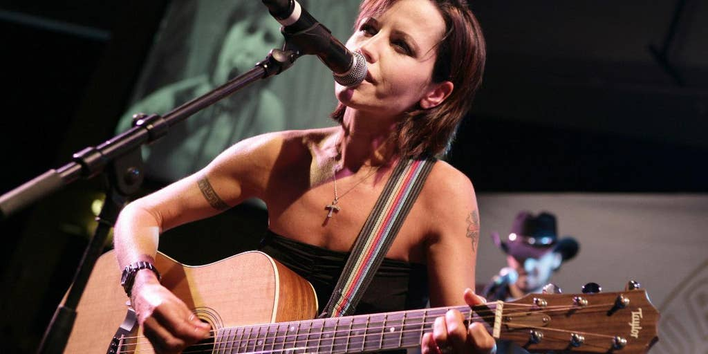 Cranberries singer Dolores O'Riordan sounds upbeat, cheerful in