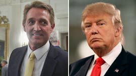 Sen. Jeff Flake's latest attempt to put the spotlight on himself is to compare President Trump to former Soviet communist dictator Josef Stalin.