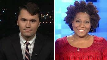 Republican strategist Charlie Kirk debates Fox News contributor Jehmu Greene on 'Fox & Friends First.'