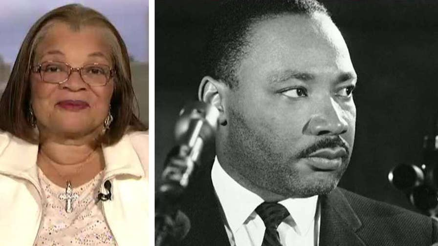 Martin Luther King Jr.'s niece praises President Trump's efforts to extend economic opportunity to minority communities in America.
