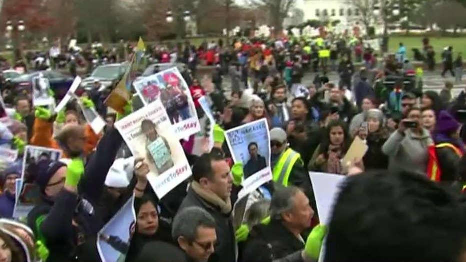 Dems threaten government shutdown over DACA