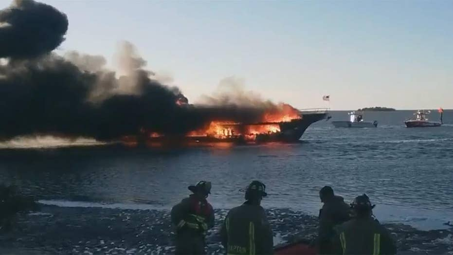 Fire engulfs casino boat in Gulf of Mexico off Florida