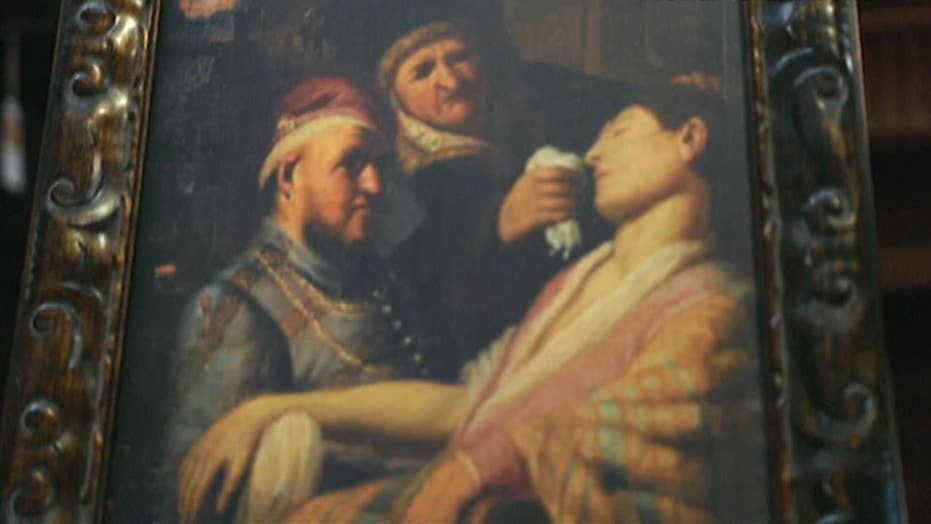 New Jersey family learns they own a Rembrandt