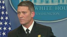 Press Secretary Sarah Sanders held a press briefing on Tuesday, and was joined by White House physician Ronny Jackson.