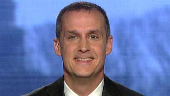 Former Trump campaign manager Corey Lewandowski says Steve Bannon's 'choice of words' was 'very poor' when he characterized a meeting between the president's son and Russians as 'treasonous'; says he looks forward to telling investigators there was no collusion between the Trump campaign and Russia.