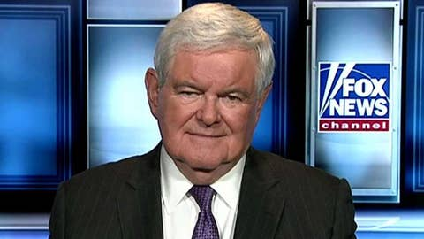 Gingrich: Gov't shutdown would be problem for Dems