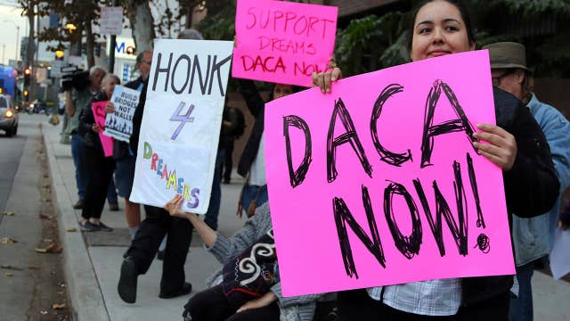 No funding deal in sight as Dems press for a DACA agreement