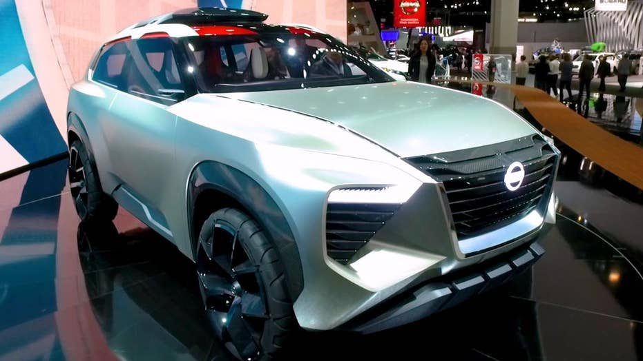 The Nissan Xmotion Is The Most Bizarre Concept Car At The Detroit