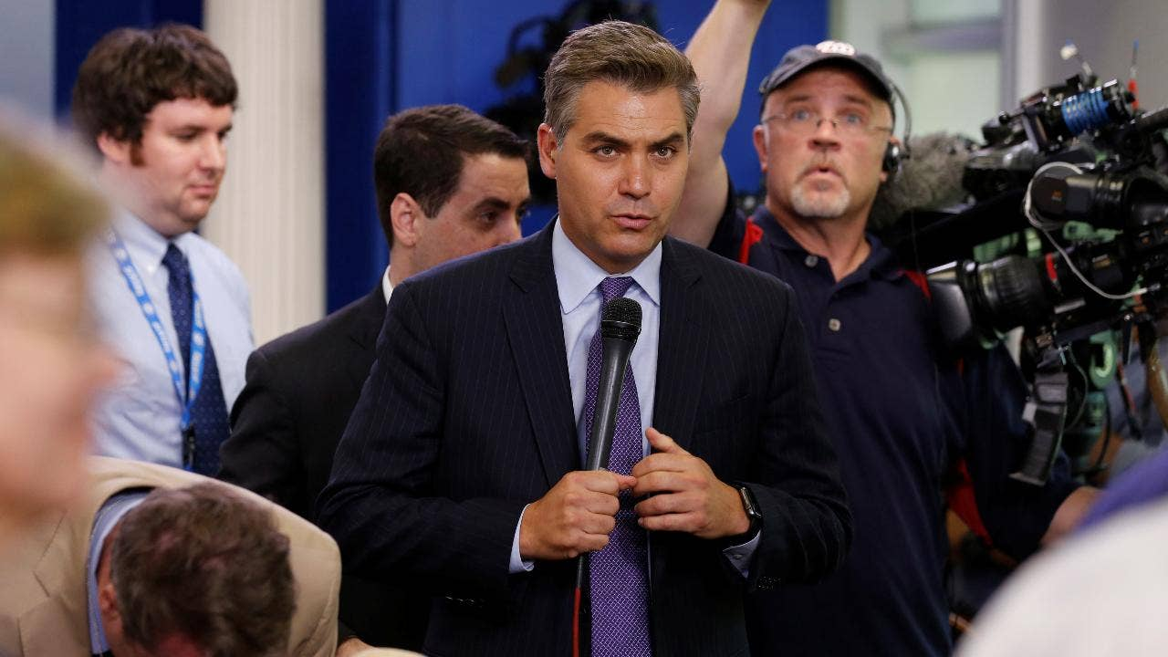CNN star Jim Acosta should be kicked out of the White House press corps