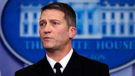 White House physician Ronny Jackson was slammed with an onslaught of questions regarding President Trump's health in a bizarre press briefing on Tuesday that raised eyebrows as the press fished for maladies.