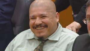 Luis Enrique Monroy Bracamontes accused of killing two California police officers interrupts first day of trial with profane outbursts.