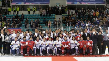 North and South Korea are forming a joint team for the Winter Olympics. Following a year of heightened tension over the North's nuclear weapons program, the two countries are assembling a women's ice hockey team for the games in Pyeongchang.