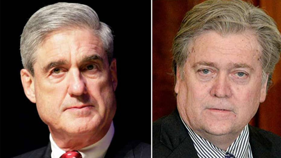 Mueller slaps Bannon with subpoenas in Russia probe