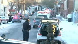 A U.S. marshal was killed and at least two other officials were wounded Thursday morning in Harrisburg, Penn. when gunfire erupted during the service of a warrant, the mayor said.