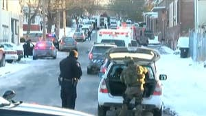 DA says multiple officers have been hospitalized in Harrisburg.