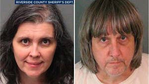 The parents of the children in the California 'house of horrors' case are facing up to a life in prison after being charged Thursday for torture and child abuse.