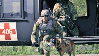 Fox Firepower: Allison Barrie with a look at how U.S. Army SOCOM is looking to equip the 75th Ranger Regiment's dogs with advanced vest protection, wearable sensors and video cameras.