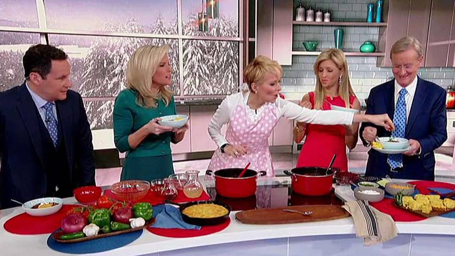 Fox Business Network anchor shares a perfect recipe for a cold day.