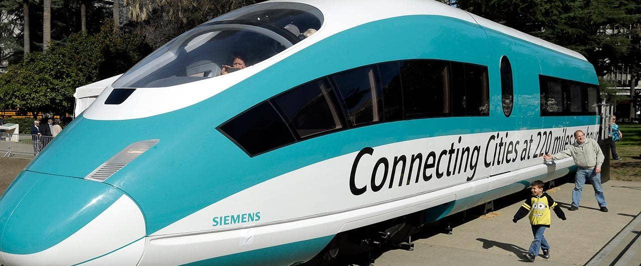California to pull plug on $77 billion bullet train, cites ballooning costs