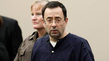 Former Michigan sports doctor Larry Nassar asks judge for relief as victim after victim describe the abuse they suffered at his hands.