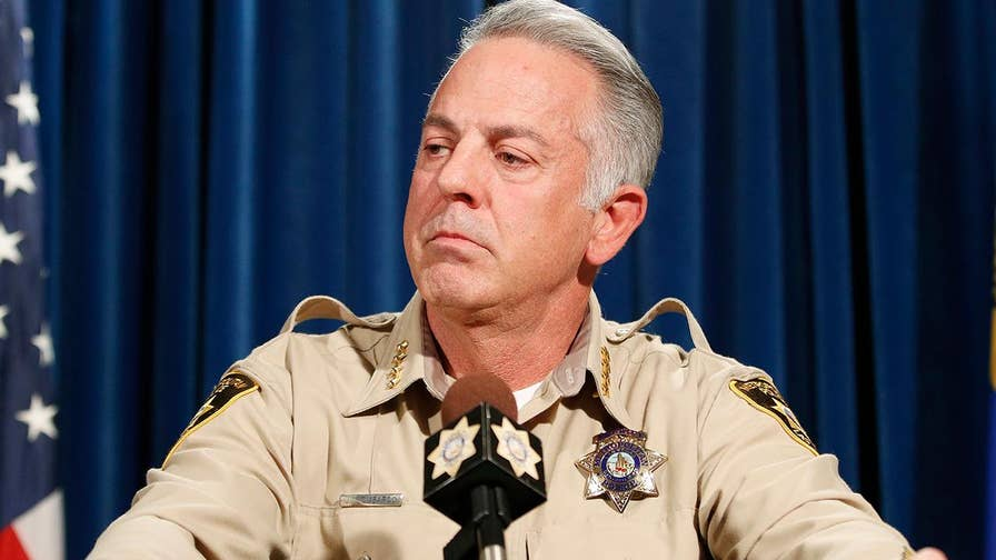 Raw video: Las Vegas Metropolitan Police Department Sheriff Joe Lombardo holds a press conference to discuss 81-page report.