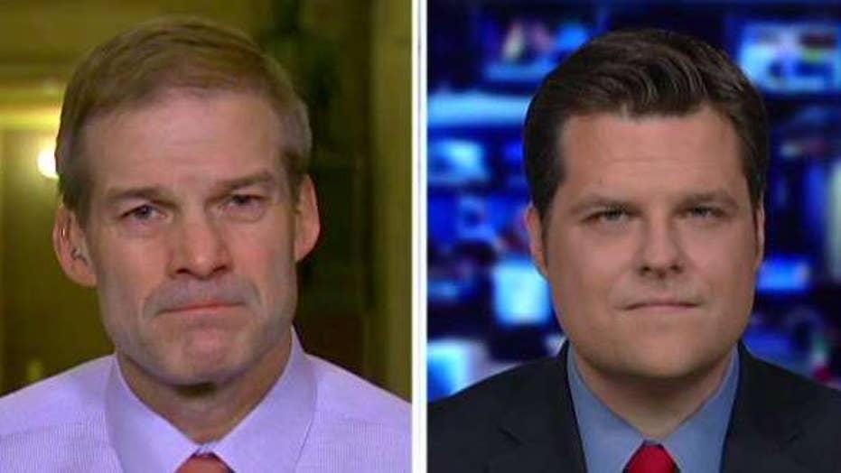 Reps. Jim Jordan and Matt Gaetz on FISA abuses