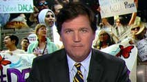 Tucker's Thoughts: The country's biggest state is punishing its citizens for following federal law. California is fighting on the behalf of a foreign population that has no right to be here in the first place. Helping Americans isn't the point. Illegal immigration makes their donors richer and ensures their re-election. #Tucker