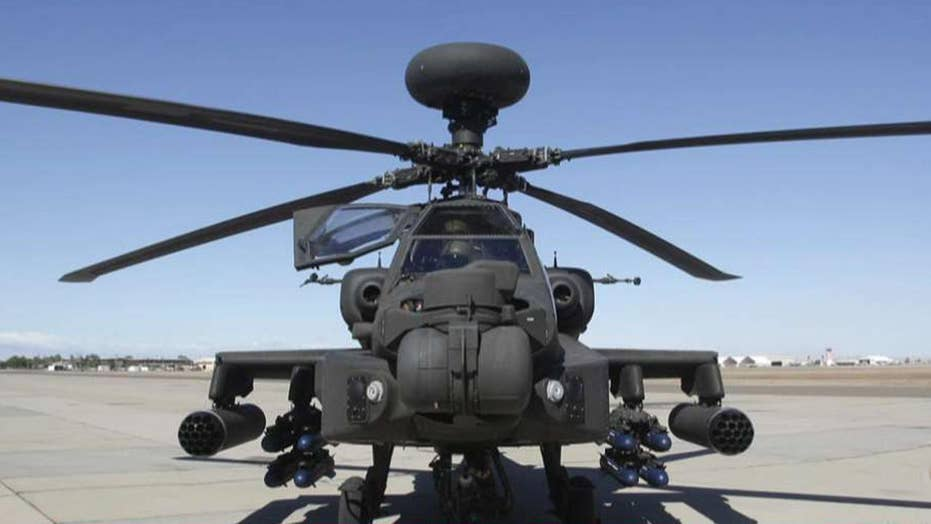 Two soldiers killed in helicopter crash