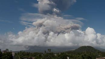 Philippines' most active volcano explodes