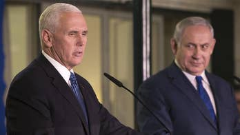 In an address to the Israeli parliament, Vice President Mike Pence defended the controversial decision to move the embassy from Tel Aviv and recognize Jerusalem as Israel's capital, which has been condemned by the Palestinians and their Arab allies. Pence announced that the U.S. embassy in Jerusalem will now open next year, ahead of schedule.