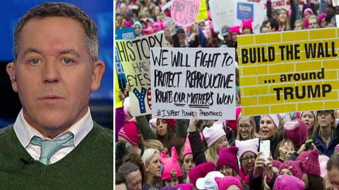 Gutfeld: The women's march vs march for life comparison