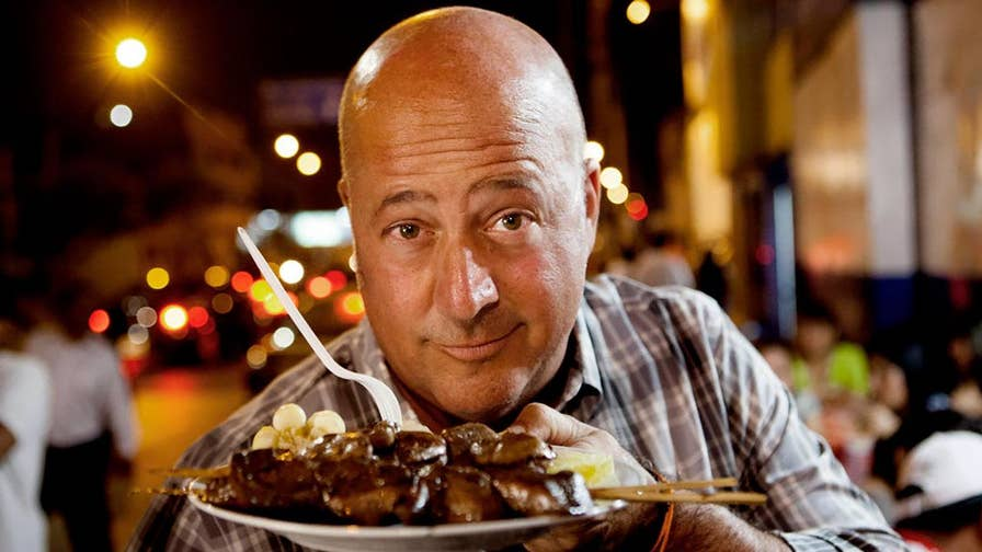 "Andrew Zimmern has eaten a lot of truly ""bizarre"" dishes during his tenure as the host of ""Bizarre Foods,"" but he reserves the word ""disgusting"" - a term he claims he rarely uses - for a very odd condiment he tries in the upcoming season."