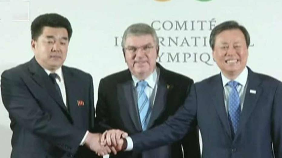 North Korea using Olympics as a Trojan horse?
