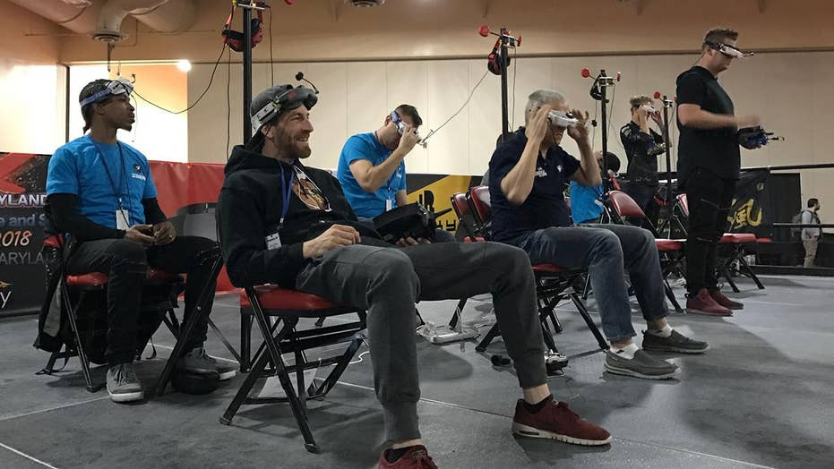 Tech and sport combine in drone racing finals