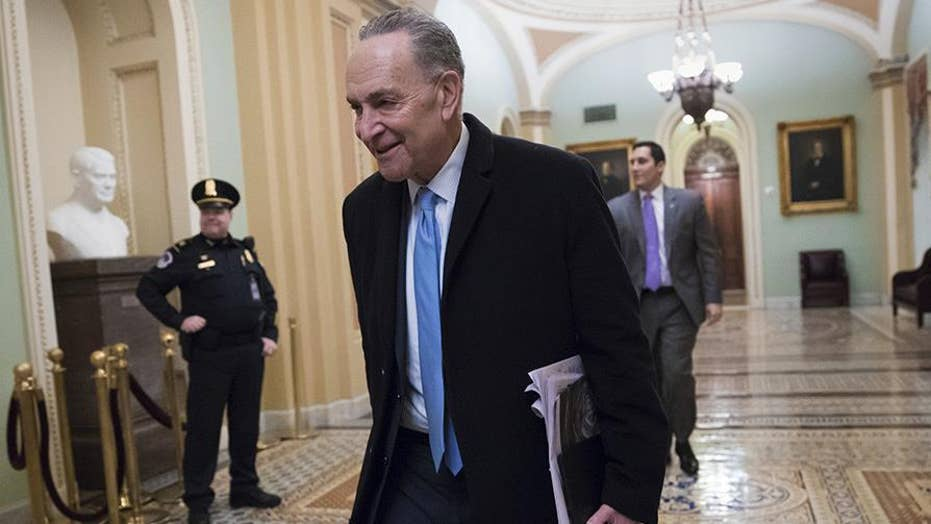 Schumer blinks: Democrats end government shutdown